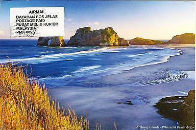 Archway Islands,Wharariki, Golden Bay , New Zealand - Posted Postcard