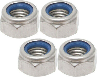 Pack of 4 x M12 Nyloc Nuts