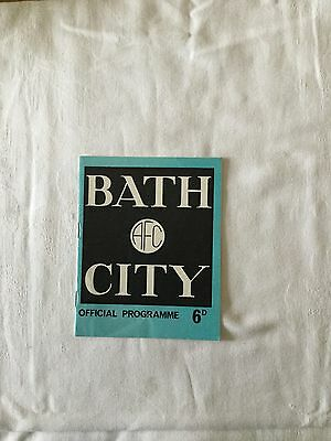 BATH CITY v GRAVESEND & NORTHFLEET 1968/9.