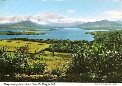 Kerry Landscape from Valentria Island - Posted Postcard 1981