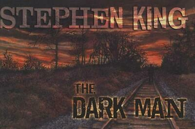 The Dark Man by Stephen King (English) Hardcover Book