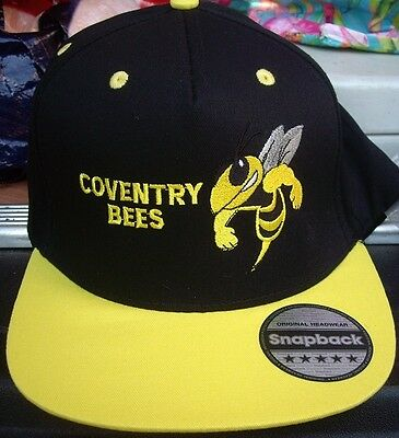 Coventry Bees---Speedway---2017 Official--Snapback Cap(Black/yellow)