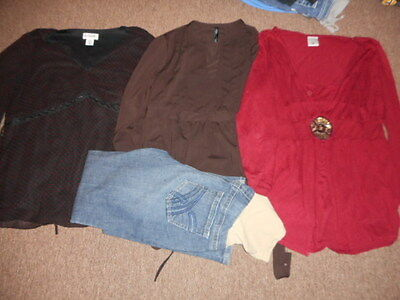 Womens Maternity Lot Size Medium Jeans, Tops Motherhood,old Navy  Great Shape