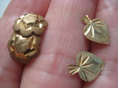9ct Gold Earrings X 2 Pairs   1970's