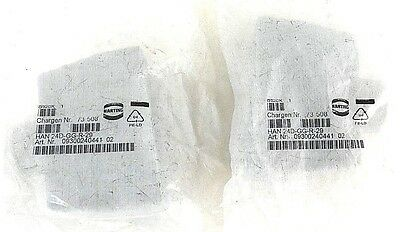 Lot Of 2 New Harting 24D-Gg-R-29 Cord Connectors 09300240441-02, 73508