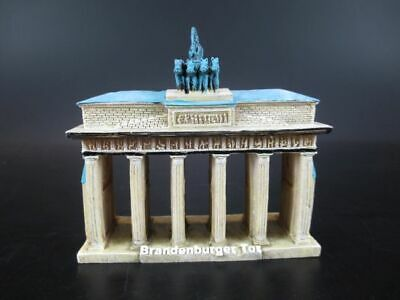 Berlin Brandenburger Tor Souvenir Poly Modell Polyresin,10 cm,Germany,New !
