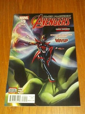 Avengers All New All Different #9 Marvel Comics Nm (9.4)