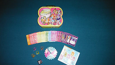 Winx Club Collectible Game Cards + Box