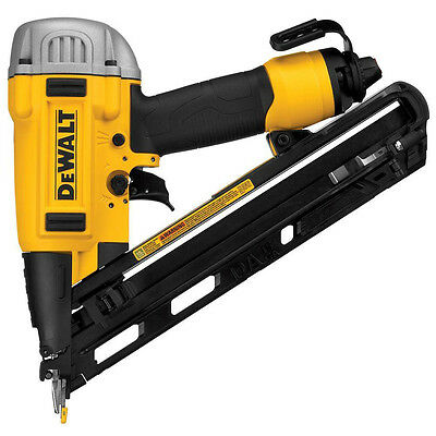 DEWALT DWFP72155R 15 GA Precision Point DA Style Angle Finish Nailer Nail Gun