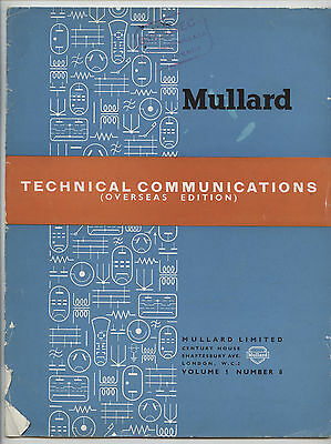 Mullard - Technical Comunications - Volume 1 - Number 7 - May 1954