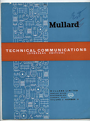 Mullard - Technical Comunications - Volume 2 - Number 11 - April 1955