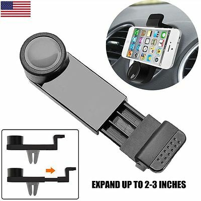 Universal Car Phone Holder Air Vent Mount GPS Stand 360 Adjustable Mobile Phone