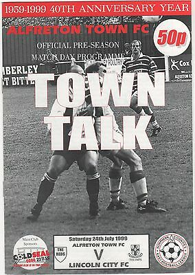 Alfreton Town V Lincoln 1999 Friendly