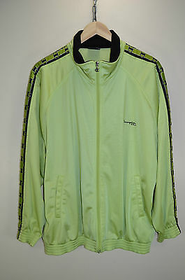 vtg 90s CHAMPION USA OLDSCHOOL RETRO TRACK JACKET TRACKSUIT TOP CASUALS size L