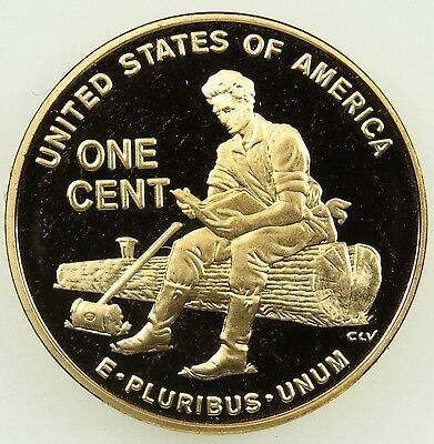 2009 S Deep Cameo Proof Lincoln Formative Years Cent Penny (B02)