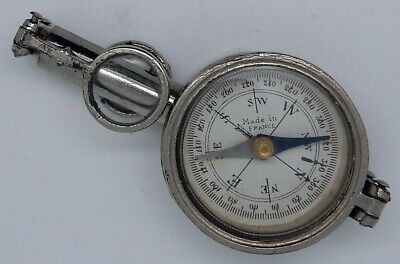 Antique French Multifunction Field Compass Made in France