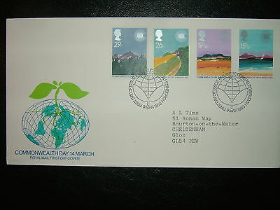 1983 Commonwealth Day Royal Mail Fdc & Bureau Shs Cv £4