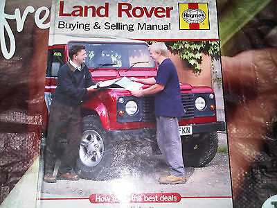 Land Rover Buying & Selling Manual Les Roberts Haynes How to do the best deals