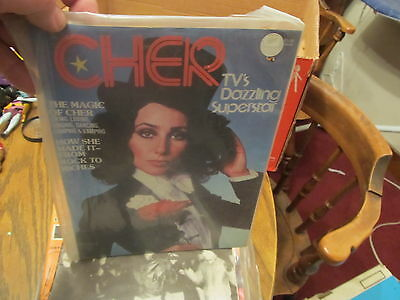 CHER 1975 magazine NICE ALL ABOUT CHER!