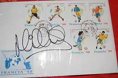 Michael Owen Signed 1998 World Cup Fdc 2