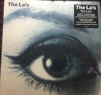 The LA's THE LA'S BLUE VINYL SEALED LP & MP3. There She Goes CAST OASIS BLUR