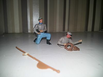VINTAGE BRITAINS SWOPPET  CONFEDERATE  SOLDIERS for spares