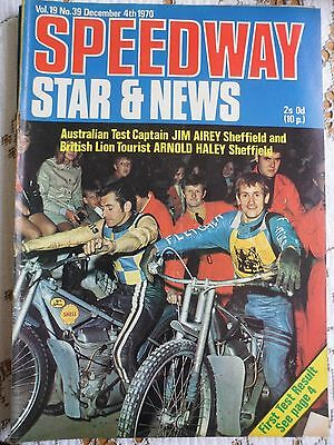 Speedway Star and News 4th December 1970
