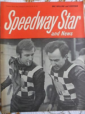 Speedway Star and News 13th February 1970