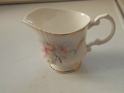 Sheriden China  Shaped Milk Jug With A Floral Pattern