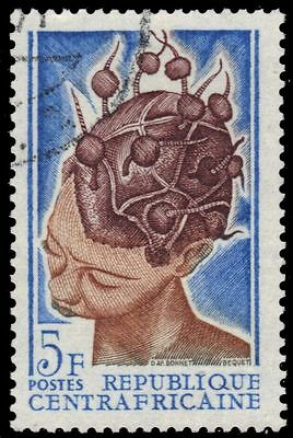 CENTRAL AFRICAN REPUBLIC 87 - Traditional Headdress (pf44963)