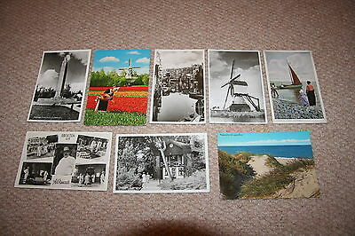 A collection of Holland postcards from the 1900s.