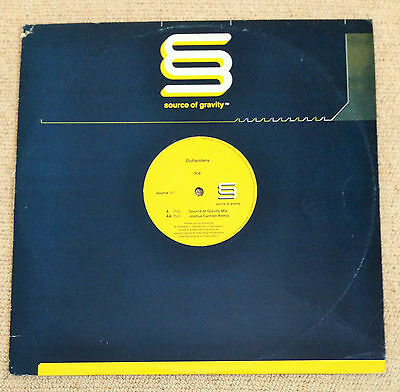 "Outlanders - Ice, A 2-Mix 12"" Vinyl, Source Of Gravity, Source 007 (2001)"