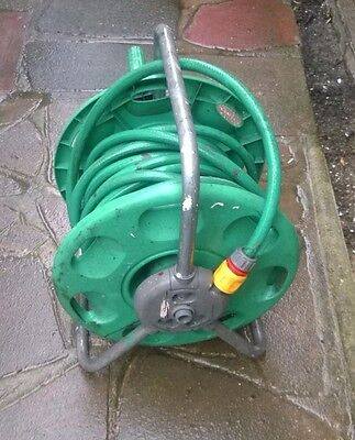 Hozelock Portable Hose Reel With OVER 20 Metres Of Hose