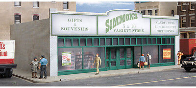 Walthers Cornerstone HO Scale Building/Structure Kit Simmons Five and Dime Store