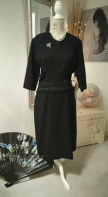 AUTHENTIC, TRUE 1940s, early '50s Dress