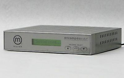 Muzak Wegener Encompass Le2 Digital Satellite Receiver Hold-Music+Power Supply