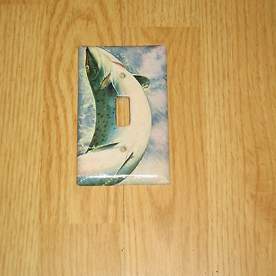 Native Rainbow Trout Wild Game Fish Light Switch Cover Plate #1
