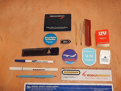 Lot Of 13 Vintage, Original Airline Giveaway Collectibles  (3)