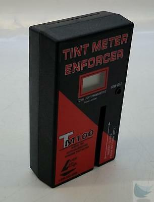 Lazer Labs TM100 Window Tint Meter Tested +/- 2% with Tint Reference Samples