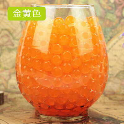 10 Bags Crystal Soil Water Beads Mud Grow Magic Colored Balls Wedding Decoration