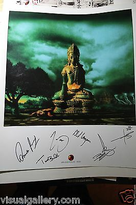 URIAH HEEP Wake The Sleeper Cover Art Print Autographed by the band IOANNIS