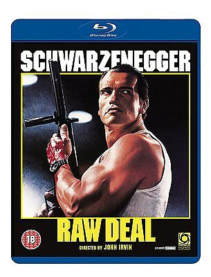Raw Deal - Arnold Schwarzenegger - Blu-Ray BRAND NEW Free Ship - USA Compatible