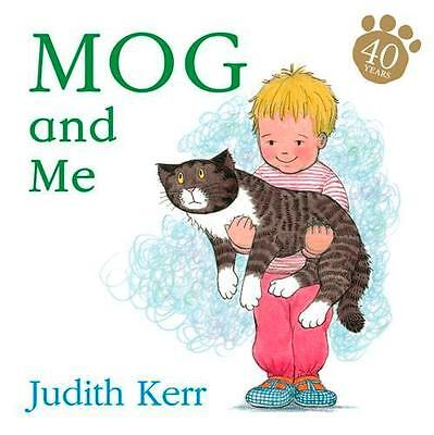 NEW Mog And Me By Judith Kerr Board Book Free Shipping