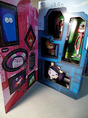 FOSTER's HOME IMAGINARY FRIENDS 5 Figure Display Box NEW Bloo Max Coco Wilt RARE