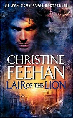 NEW Lair of the Lion By Christine Feehan Paperback Free Shipping