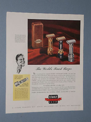 1946 Stahly Live-Blade Razor Ad Stahly Vibrating Safety Razor Ad