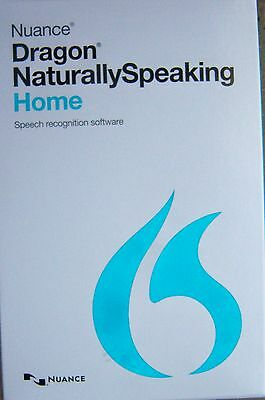 Nuance Dragon NaturallySpeaking Home 13 With Headset New in Sealed Retail Box