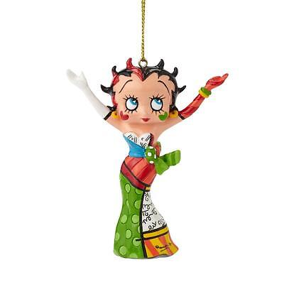 Betty Boop by Britto 4046450 STRIKE A POSE - HANDS IN THE AIR Resin Ornament