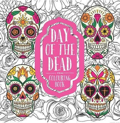 NEW Day of the Dead Colouring Book By Bounty Paperback Free Shipping