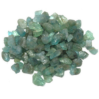 452.00 CT. Unheated ROUGH BLUE GREEN APATITE b618